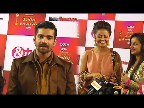 Devoleena Bhattacharjee and Vishal Singh at 14th ITA Red Carpet