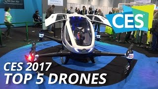 CES 2017: Top 5 Drones