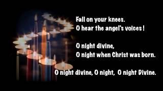 O Holy Night : Nat King Cole with Lyric