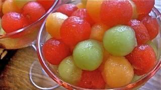 Drunken Melon Balls Recipe