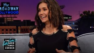 Nina Dobrev Was Pranked by