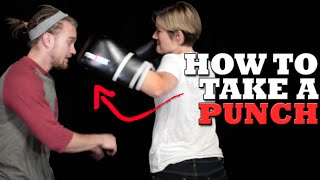 How to Take a Punch to the Face in a Fight