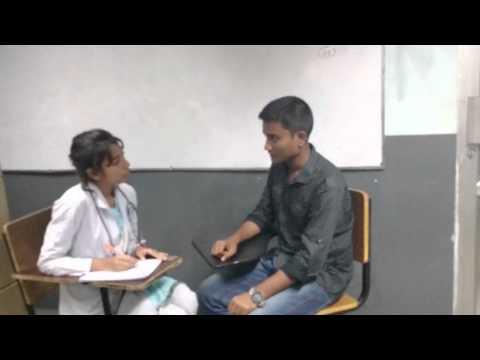 A Dialogue Between a Doctor and a Patient - Quiz Exam Presentation