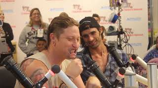 All American Rejects Visit Seacrest Studios at Children's National