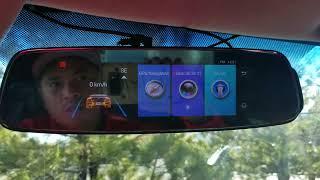 Phisung E06 4G Car Mirror DVR ADAS Unboxing and Video Test
