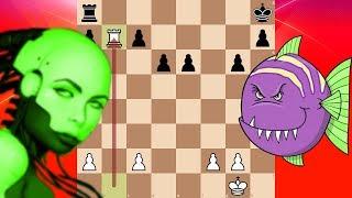 Bot Battle: Leela Chess Zero ID:185 vs Stockfish 9