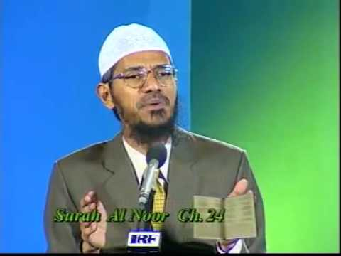 Why do Muslim women have to wear a Hijab/veil by Dr Zakir Naik