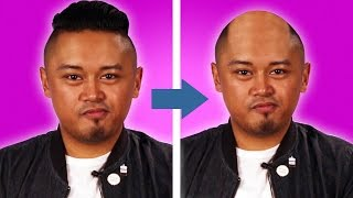 Men Find Out If They'll Lose Their Hair