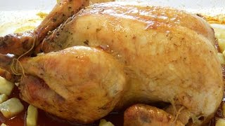 مرغ شکم پر Roast Chicken | Morgh Shekampor
