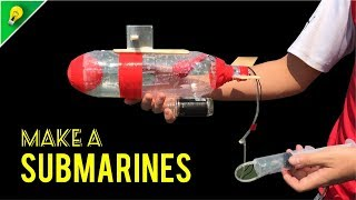 How To Make A Submarine  - From Plastic Bottles & Coca Cola - Amazing DIY Projects