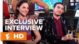 Justice League Cast Answers Questions From Fans (2017) Interview | All Access