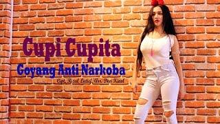 HEBOH GAGAL FOCUS!!! Cupi Cupita  Goyang Anti Narkoba di Kuala Lumpur Malaysia...