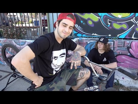 SWITCH FOOT GAME OF BIKE WITH STEVIE CHURCHILL AND MIKEY TYRA