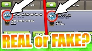 Clash Of Clans - NEW WORLDS HIGHEST LEVEL PLAYERS!! LEVEL 402 & 401!