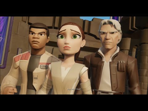 Xxx Mp4 Disney Infinity 30 The Movie Star Wars The Force Awakens Playset All Cutscenes Amp Boss 3gp Sex