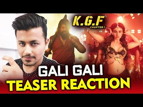 Xxx Mp4 KGF Gali Gali Song Teaser Review Reaction Mouni Roy Yash 3gp Sex