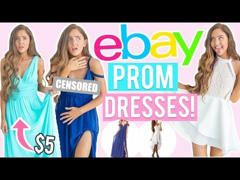Xxx Mp4 TRYING ON 5 EBAY PROM DRESSES Cheap Dresses I Bought Online EBay Amazon 3gp Sex