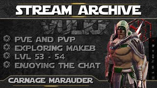SWTOR - Carnage Marauder PvP & PvE Gameplay (Sith Warrior Levels 53-54) - Stream Archive