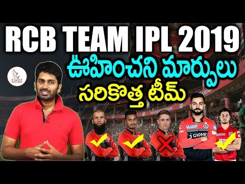 Xxx Mp4 RCB Team For 2019 IPL Released Amp Retained Players Sports News Eagle Media Works 3gp Sex