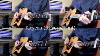 TAEYEON (태연) - I (feat. Verbal Jint) - (Acoustic guitar cover)