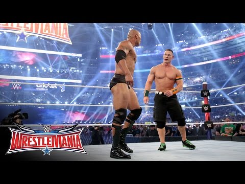 John Cena returns to join forces with The Rock: WrestleMania 32 on WWE Network