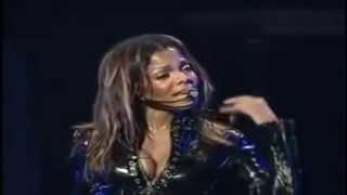 Janet Jackson - Fan loses it on stage