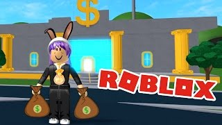 ROBBING A BANK OBBY IN ROBLOX | MO MONEY! | RADIOJH GAMES