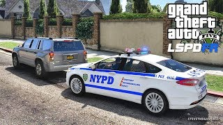 LSPDFR #607 NYPD PATROL!! (GTA 5 REAL LIFE POLICE PC MOD) THANK YOU FOR 700K