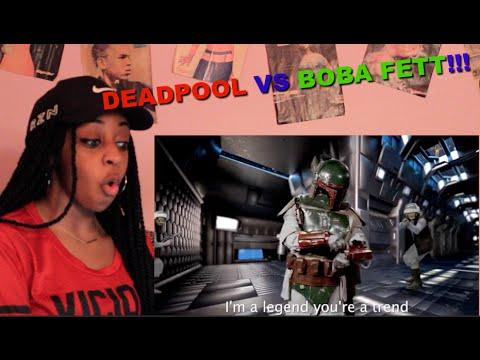 Couple Reacts : Epic Rap Battle Of History Deadpool Vs Boba Fett!!! LOL
