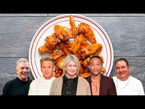 Which Celebrity Has The Best Wings Recipe • Tasty