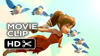 Tinker Bell and the Legend of the NeverBeast Movie CLIP - Flight (2014) - Disney Movie HD