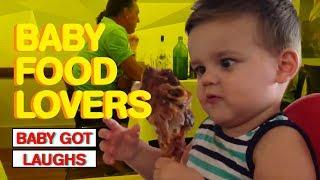 Baby Food Lovers   Hilarious Babies Binge Eating Food!