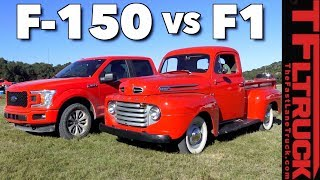 Old vs New: How Much Has The Ford Pickup Changed in 68 Years?