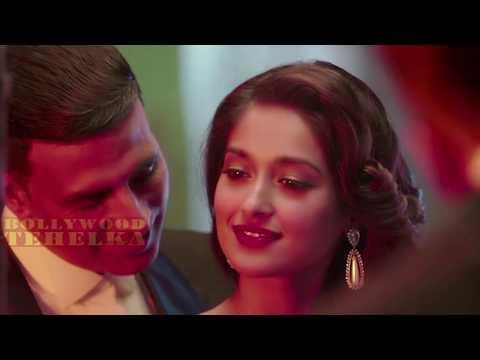 Rustom Kiss - Akshay Kumar And Ileana D'cruz Hot Kissing Scene