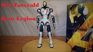 Unboxing Hot Toys Marvel Iron Man Iron Legion 03 1/6 Scale MMS 299 Review Age of Ultron