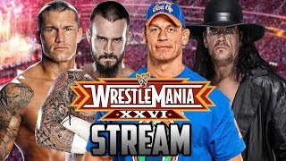 WRESTLEMANIA WWE 2010! (TOTAL EXTREME WRESTLING)
