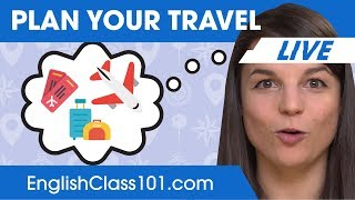 How to Make Travel Plans  - Basic English Phrases