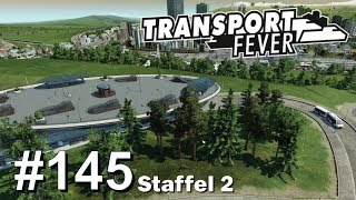 TRANSPORT FEVER S2/#145: XL Tram/Bus Station Genesis [Let's Play][Gameplay][German][Deutsch]