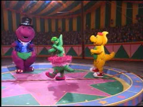 Barney Adventure Bus Baby Bop Hop Song