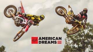 Fox MX   American Dreams   Ricky Carmichael and Tim Gajser