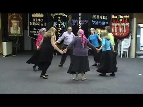 ICD DANCE TEACHING VIDEO: We Will Run & Ani Ma'anim - Music by: Paul Wilbur & Beckah Shae