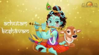Heart Touching Art of living Bhajan: Achutam Keshavam | Krishna Bhakti Bhajan Song by Sachin Limaye