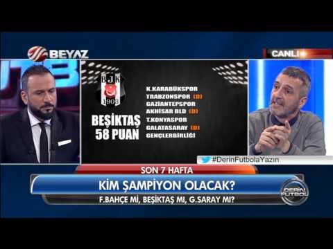 (..) Derin Futbol 20 Nisan 2015 Kısım 3/4 - Beyaz TV