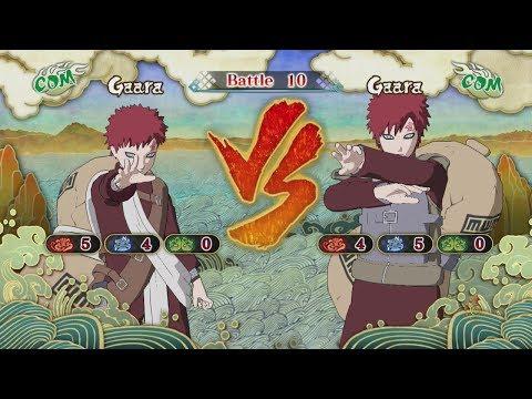Naruto Shippuden Ultimate Ninja Storm 3 Young Gaara VS Gaara Shippuden