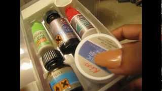 How to Apply Kiss Complete Salon Acrylic Nail Kit 5/28/2012