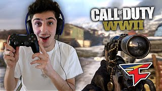 FAZE RUG PLAYS CALL OF DUTY: WW2 (FINALLY!!)
