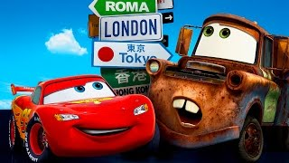 Cars Video Gaming - Toon Mater's Tall Tales | Tokyo Mater Game | Video Gaming for Kids & Children