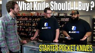 What Knife Should I Buy?   Starter Pocket Knives