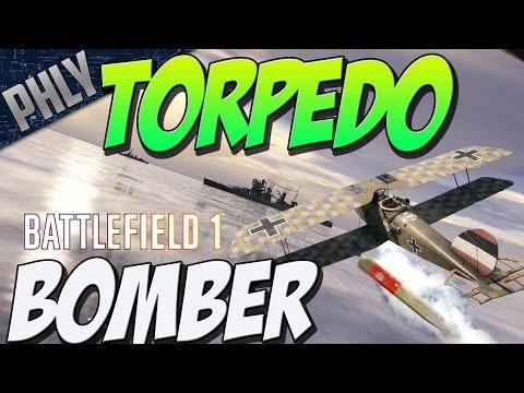 watch BIGGEST BF1 EXPLOSION - Torpedo Bomber Vs DreadNOUGHT (Battlefield 1 Gameplay)