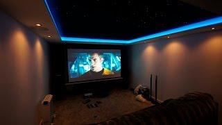 Timelapse Home Cinema Room Transformation